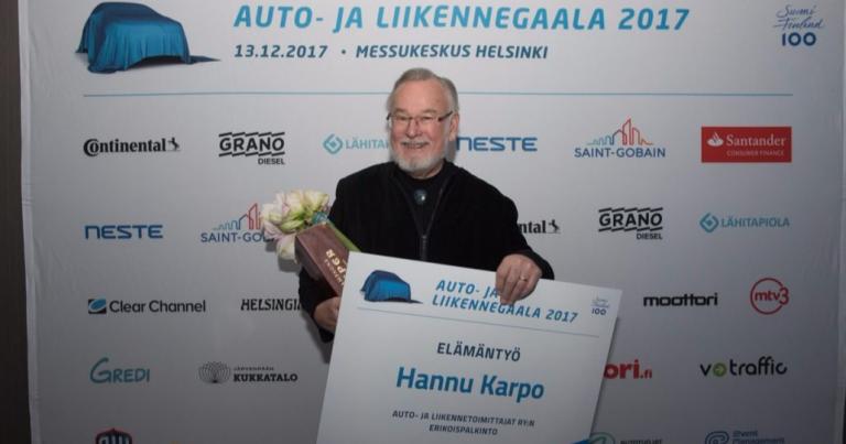 TV-legendasta Hannu Karposta tulee syksyllä dokumenttielokuva