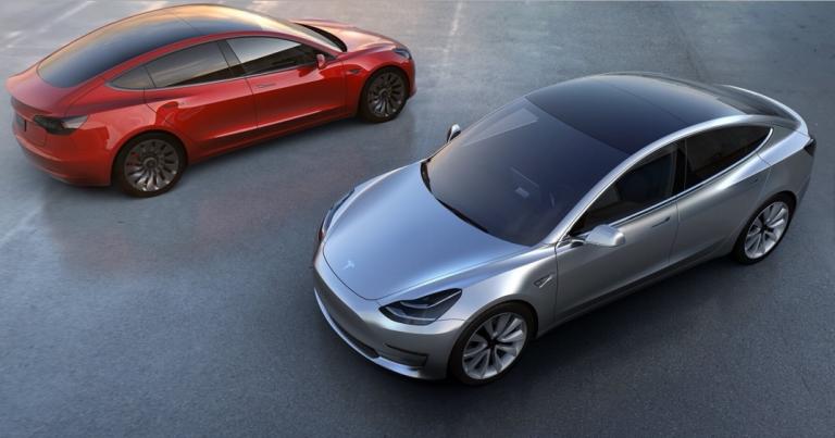 Norjassa Tesla Model 3 on kaikkein suosituin henkilöauto