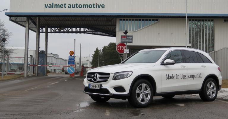 Uudessakaupungissakin valmistettava GLC-malli on Mercedes-Benzin suosituin malli