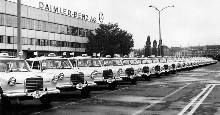 Mercedes-Benz on taksikuskien suosikki
