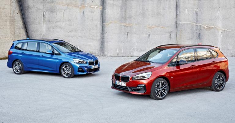 Maaliskuussa tulee uusi BMW 2 Tourer -mallisto, myös pistokehybridi!