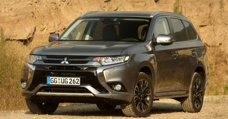 Mitsubishin ladattavaa hybridiä on myyty Euroopassa yli 100 000
