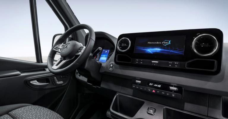 Katso tästä tiistaina uuden Mercedes-Benz Sprinterin julkistus