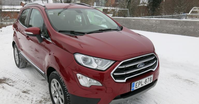 Autotoday tutustui: Ford Ecosport – pikkuluokan katumaasturi