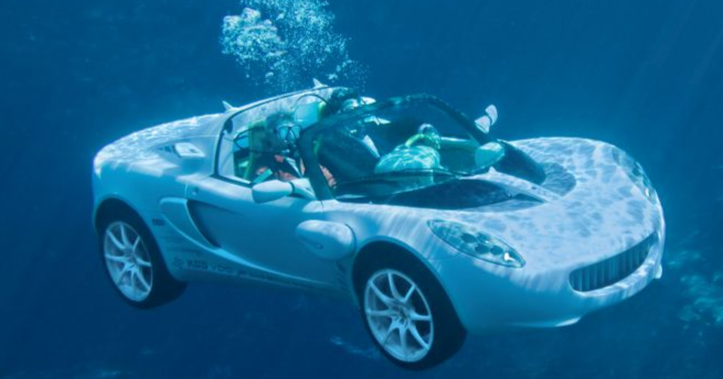 Autotodayn juhlaviikon juttu: James Bondin Lotus ui nyt oikeasti