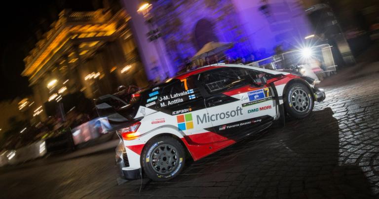 WRC: Meksikon ralli alkoi Hyundain Thierry Neuvillen komennossa