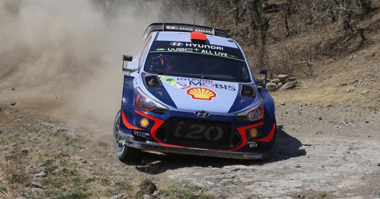 WRC: Hyundain Dani Sordo kärjessä – suomalaiset kympin sakissa