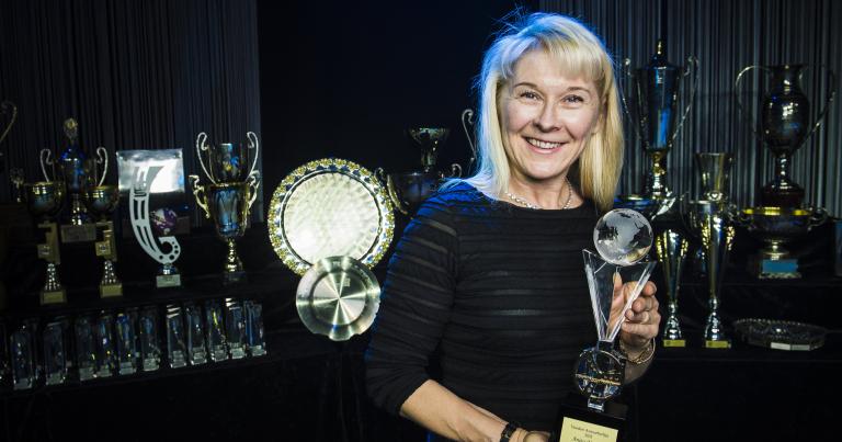 Anita Mäkelä on autourheilun Vuoden Superstar