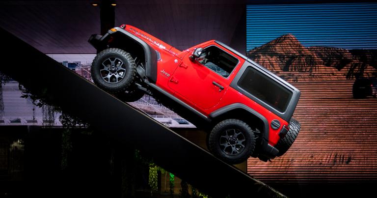 Jeep Wrangler uudistui