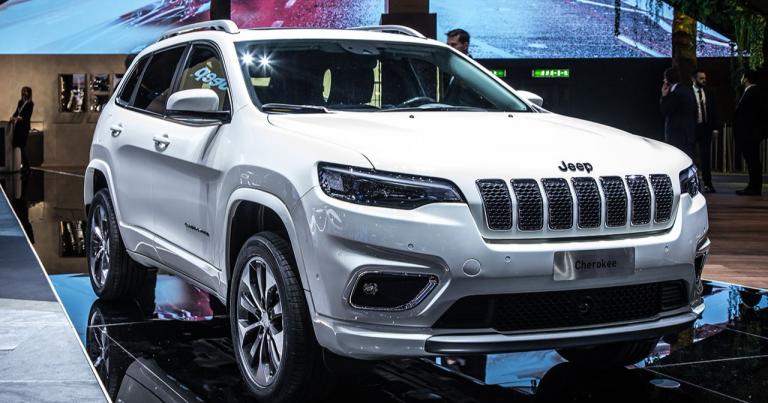 Uudistunut Jeep Cherokee julkistettiin  Genevessä
