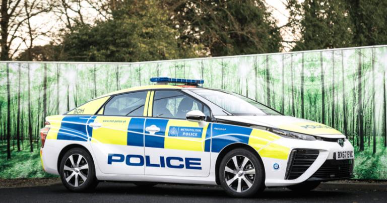 Päivän poliisiauto: Scotland Yardin vetyauto