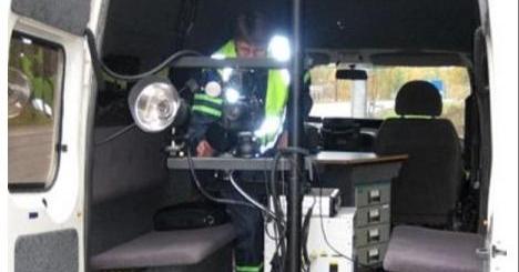 Torstaina poliisi käyttää kameravalvonta-autoja tavallista tehokkaammin!