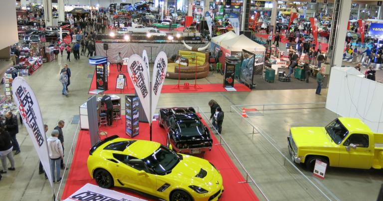 American Car Show on taas pääsiäisenä Helsingin Messukeskuksessa