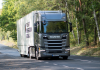 Scanian kuorma-auto kulutti testiajossa kaikkein vähiten