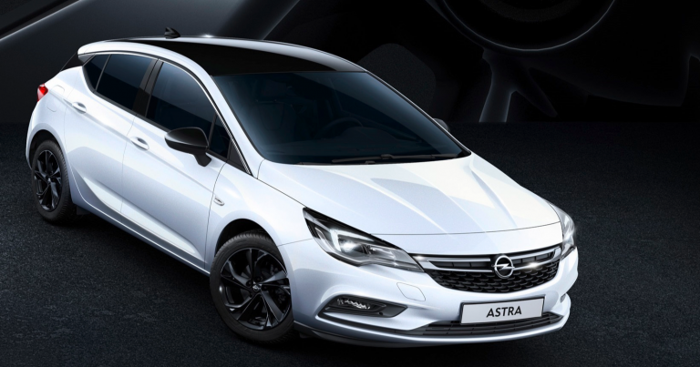 Opel Astran Black Edition -malli nyt Suomessa