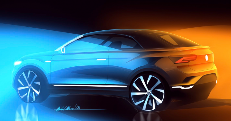 Volkswagenin katumaasturiperheen ensimmäinen avomalli tulee 2020