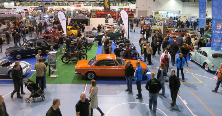 Classic Motorshow järjestetään ensi vuonna jo huhtikuussa