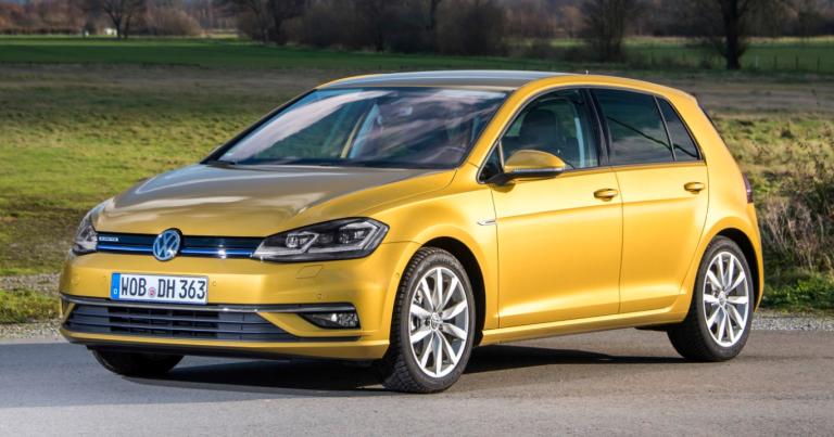 Volkswagen Golf -mallistoon polttoainetaloudellinen mikrohybridi