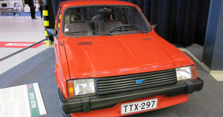 Päivän museoauto: British Leylandin vastaveto Ford Fiestalle ei menestynyt Suomessa