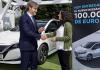 Nissanilla aihetta juhlaan - Eurooppaan toimitettu jo yli 100 000 Leafia!