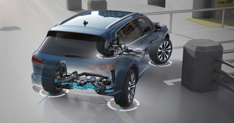 Volkswagenin ensimmäinen nelipyöräohjauksella varustettu auto on kohta täällä