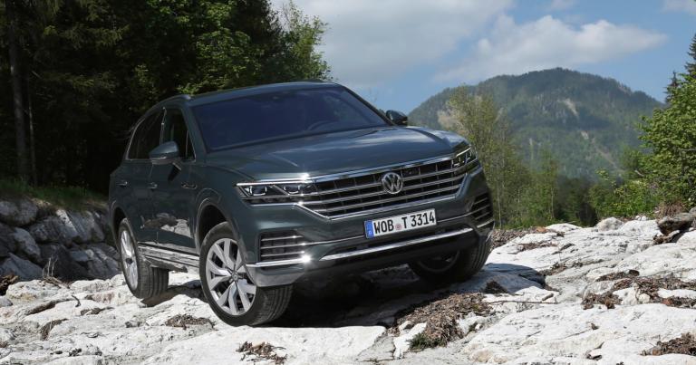 Uusi Touareg on ensimmäinen uudella kallistuksenvakausjärjestelmällä varustettu Volkswagen