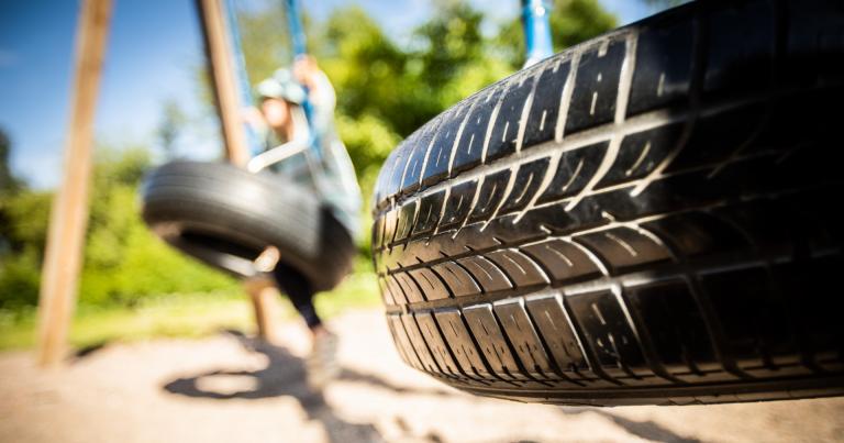 Käytöstä poistettua rengasta voi vielä hyötykäyttää kotona