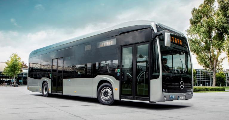 Mercedes-Benz laajentaa eCitaro-mallistoaan ja parantaa akun suorituskykyä