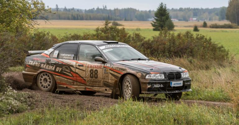 BMW:n rallisarjaan uusi mestari