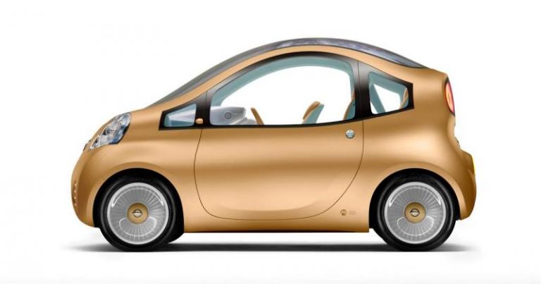 """Autotoday 10 vuotta sitten: """"Nissanin konseptisähköauto Nuvu julkistetaan Pariisissa"""""""