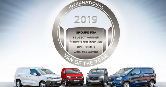 Vuoden pakettiautoksi valittu auto myydään neljällä merkillä: Citroen, Peugeot, Opel, Vauxhall