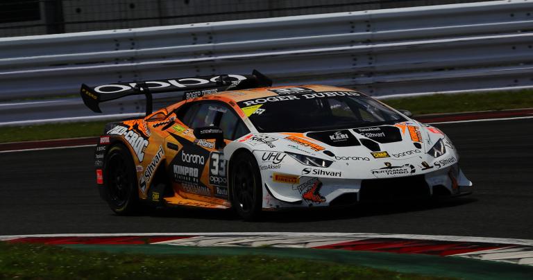 Lamborghini Super Trofeo: Eskelinen ja Puhakka taas tänään palkintopallille