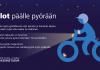 Liian moni polkupyöräilijä ajaa valoitta