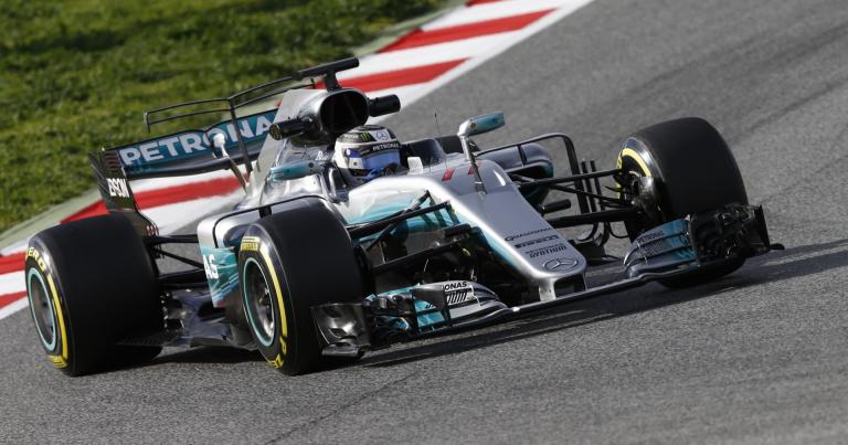 F1: Bottas taas nopein, Räikkönen ajoi ulos