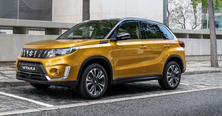 Uudistuneessa Suzuki Vitarassa entistä enemmän varusteita