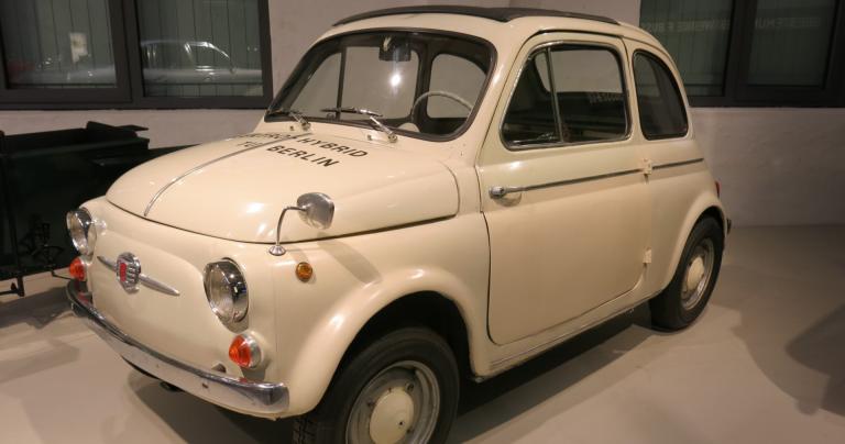 Päivän museoauto: Tämä Fiat-hybridi valmistui jo 1960-luvulla