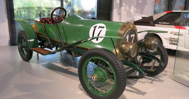 Päivän urheiluauto: NAG Rennsportwagen 1913
