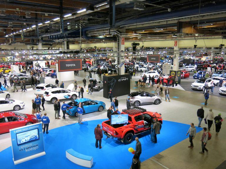 Lähes 200 uutta autoa 29 merkiltä koeajettavissa Auto 2018 -tapahtumassa
