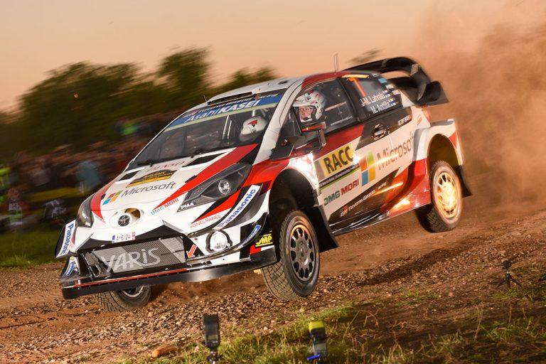 WRC: Latvala aloitti hurjan takaa-ajon