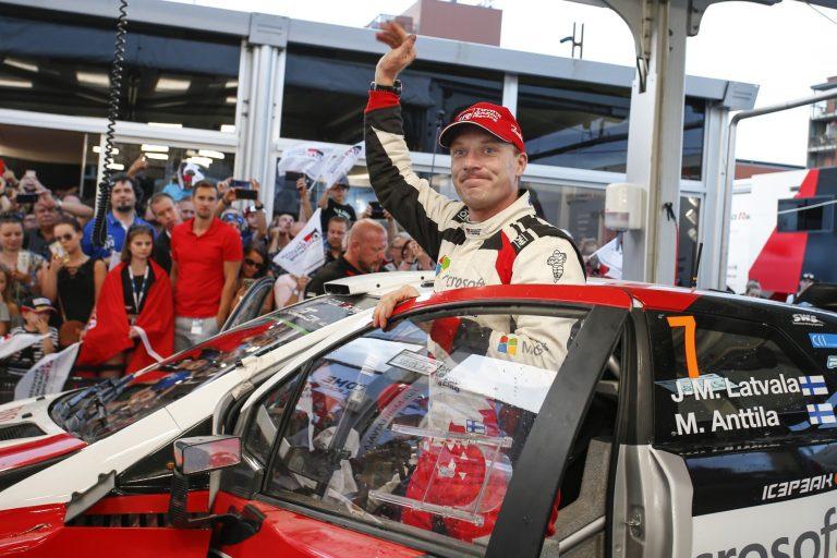 WRC: Latvala johtaa Espanjan MM-rallia lauantain jälkeen