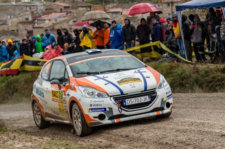 WRC: Taisko Lario toiseksi Espanjan MM-rallin WRC3-luokassa