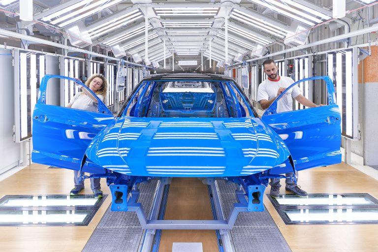 Audin pienimmän mallin valmistus alkoi Espanjassa