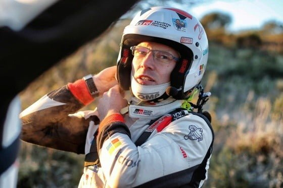 WRC: Latvalan kisa jäi kesken päivän viimeisellä pätkällä