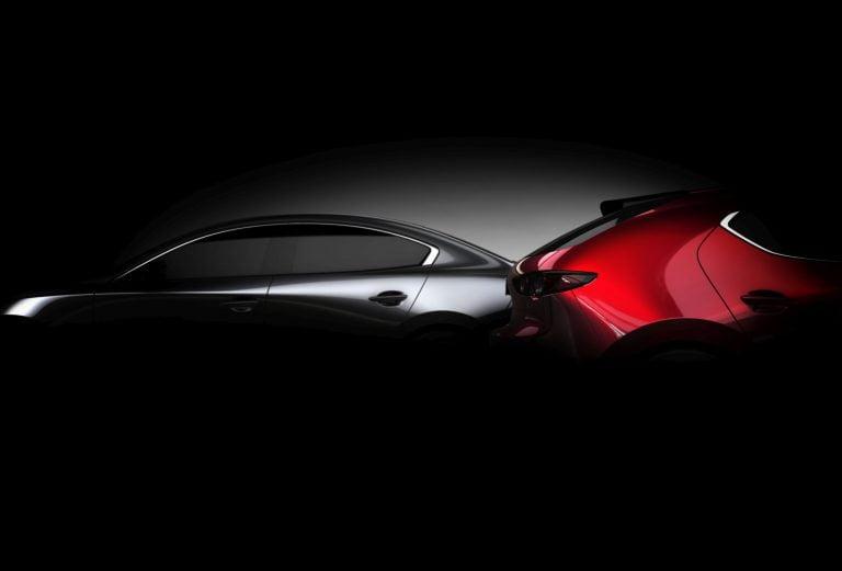 Uuden Mazda-sukupolven aloittava Mazda3 julkistetaan muutaman viikon päästä