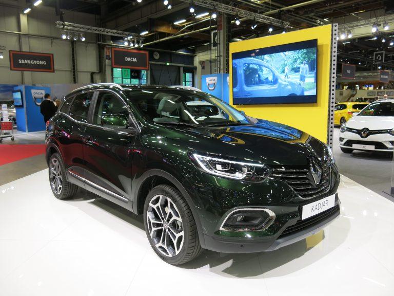 Uusi Renault Kadjar esillä Auto 2018 -tapahtumassa