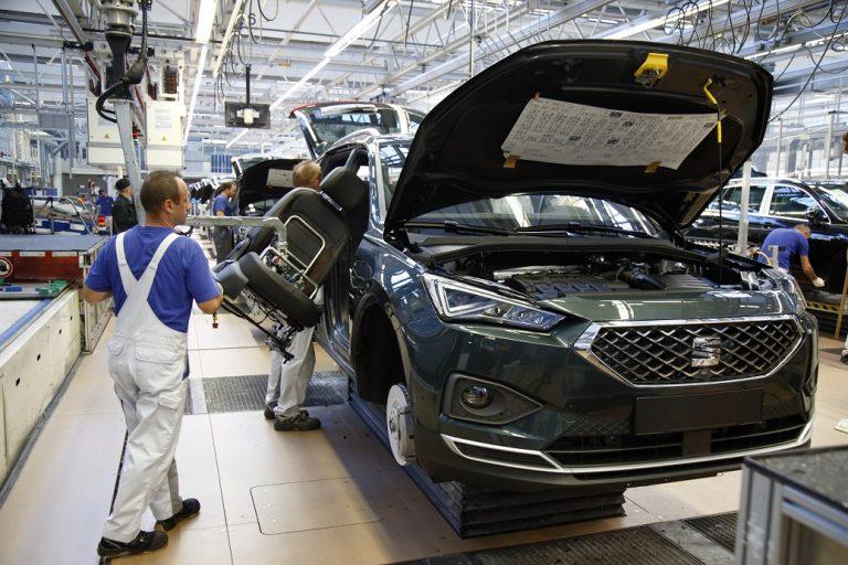 Seatin uusin malli tekee valmistushistoriaa VW:n Wolfsburgin tehtaassa
