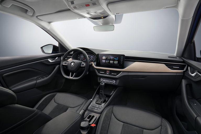 Tältä ensi viikolla julkistettava Škoda Scala näyttää sisältä