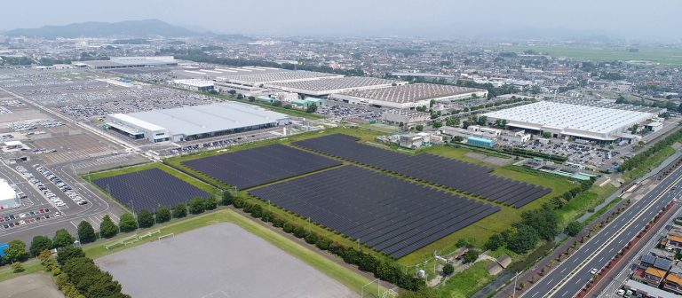 Subaru rakentaa Japanin suurimmman aurinkovoimalan — CO2-päästöt vähenevät 2 370 kg