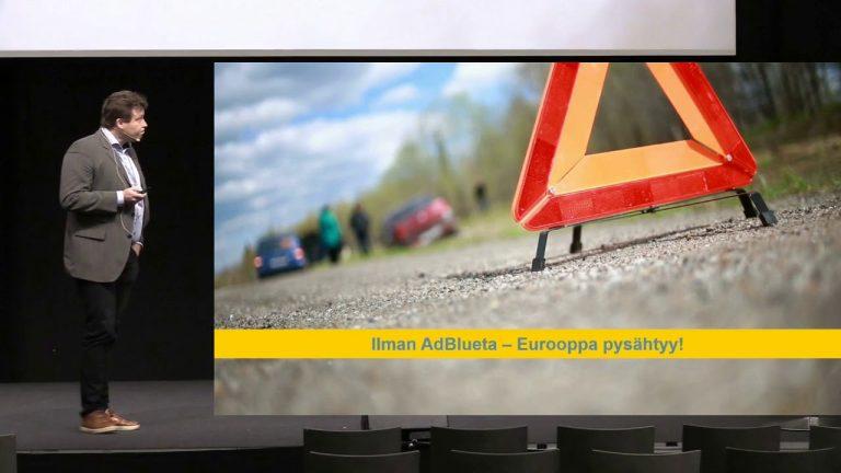 Autotoday.tv: Uusi dieselauto on ympäristöteko numero 1 – Case AdBlue
