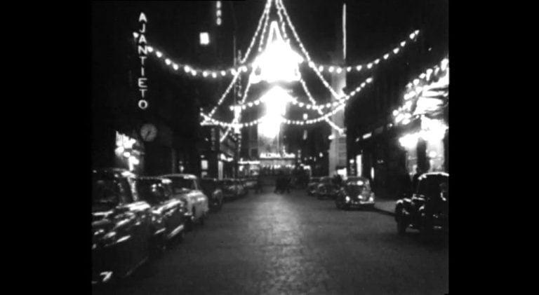 Ylen Elävä arkisto: Lähde autoajelulle yölliseen Helsinkiin jouluna 1960-luvulla